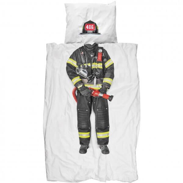 SNURK Bettwäsche Feuerwehrmann